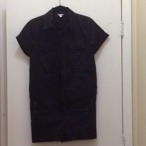 Guess black short one pice